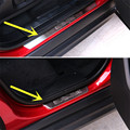 Outside Door Sill Scuff Plate For Land Rover Range Rover Evoque 2012-2016 4pcs