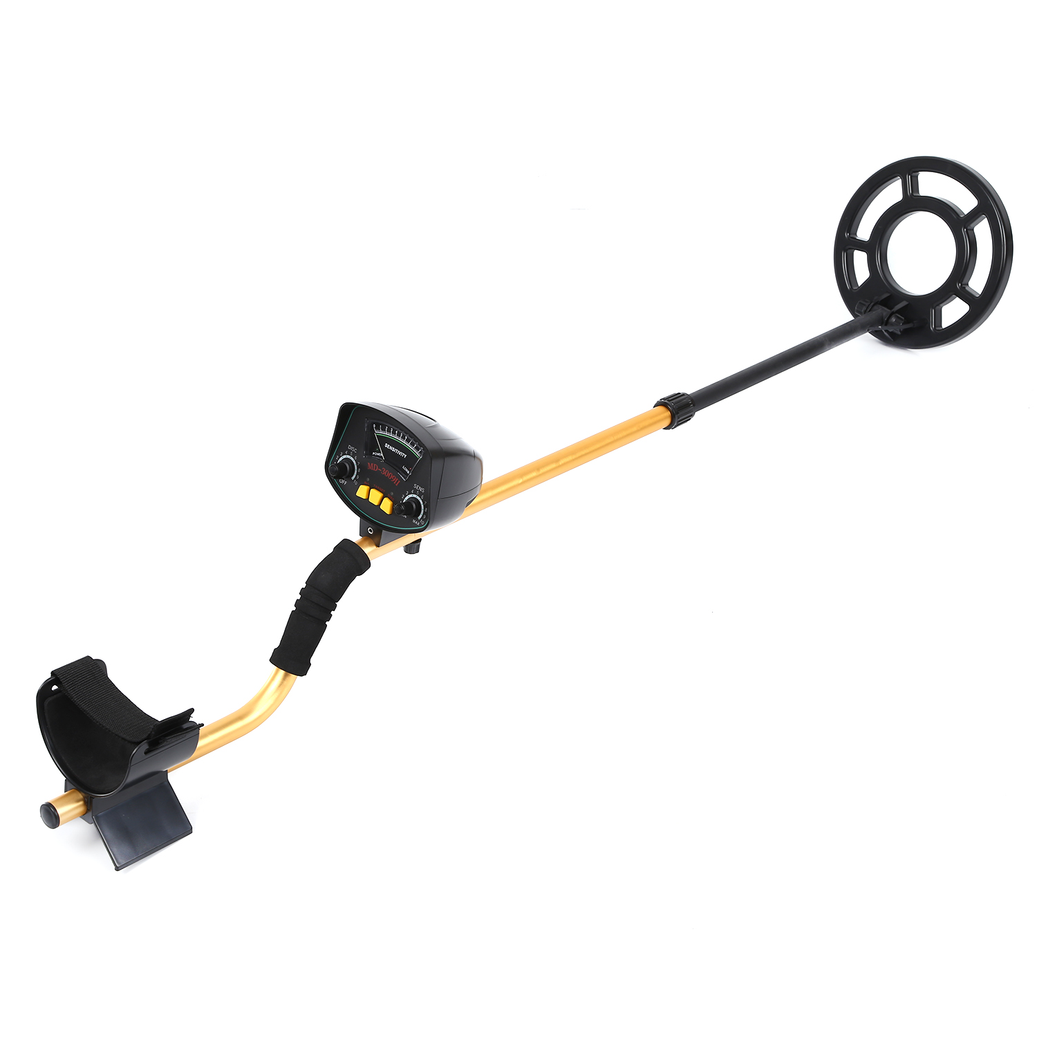 Professional Underground Metal Detector MD3009II Gold Ground Metal Detector MD-3009ii Nugget High Sensitivity Silver Finder free shipping md4030 underground metal detector md 4030 ground metal detector gold detector nugget detector