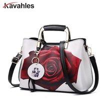 Frauen Handtasche Mode-stil Weiblichen Gemalt Schultertasche Muster Messenger Bags Leder Lässig-einkaufstasche Abendtasche PP-840
