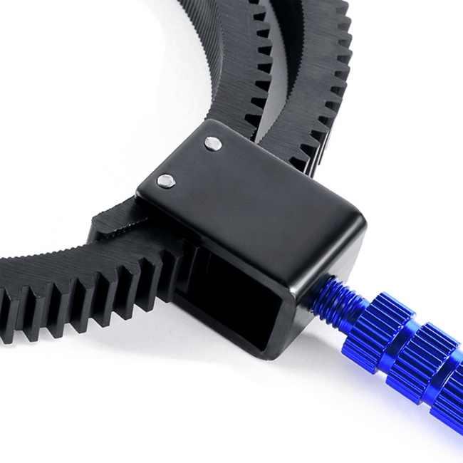 Nihlsfen para Accesorios de c/ámara SLR DSLR Correa de Anillo de Engranaje de Enfoque de Seguimiento de Goma Ajustable Agarre de 49 mm a 82 mm para c/ámara de videoc/ámara DSLR