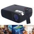 Proyector de vídeo 800*480 2600 Lúmenes de Cine En Casa HD LCD TV uso Educativo Proyector Proyector 1080 P HDMI USB TV DVD Beamer