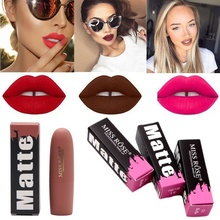 Lipsticks For Women Sexy Lips Color Cosmetics Waterproof Long Lasting  Nude Lipstick Matte Velvet Makeup