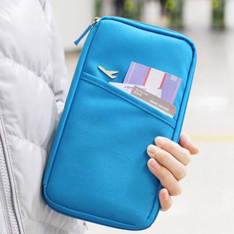 Multi Function Women travel Wallet Passport Case Cover Multifunction Credit Card Package ID Card Holder Travel Storage Bag hhyukimi neck hanging travel passport cover wallet id holder storage clutch money bag travel multifunction credit card package