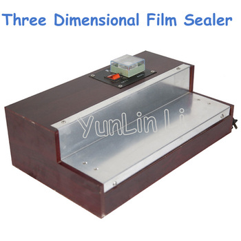 220V Three-Dimensional Hot Film Sealing Machine Cosmetic/ Handkerchief Paper Wrapping Machine FL1779