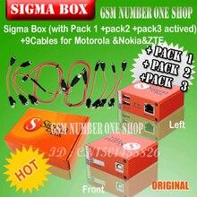 O mais novo 100% original sigma caixa + pack1 pack2 pack3 nova atualização para huawei