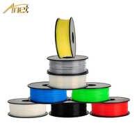 Materiais de impressão do abs do pla do filamento 1.75mm 0.5 kg/1 kg/carretel da impressora 3d para o plástico do filamento 3d da pena da extrusora 3d da impressora