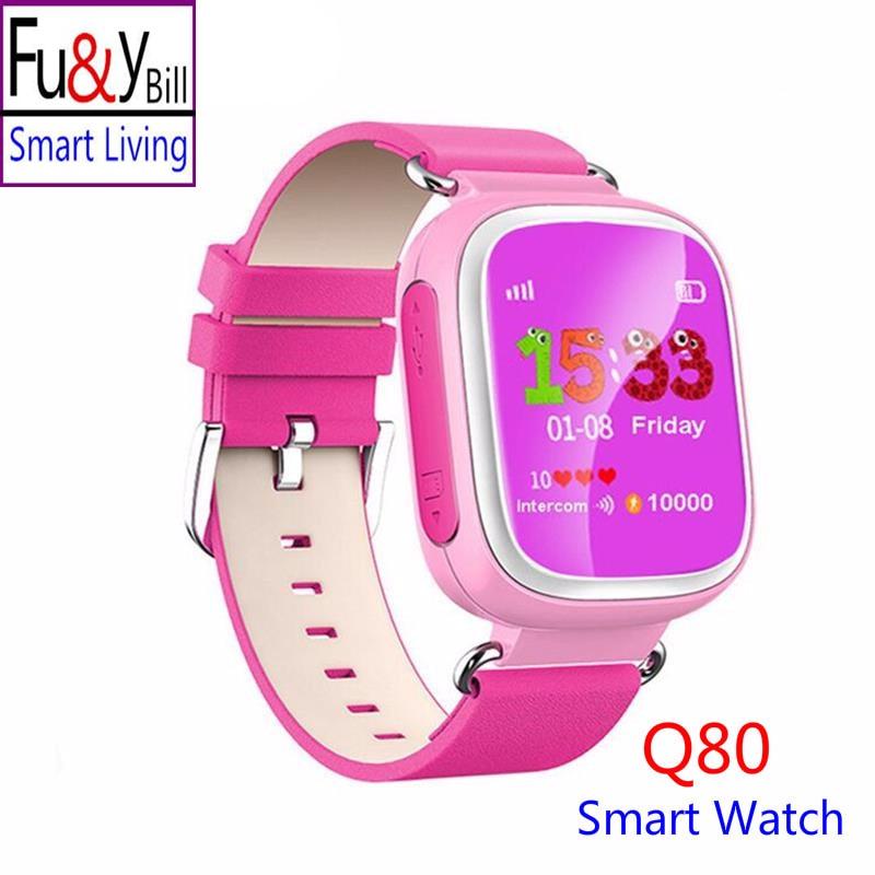 Fu Y Bill Q80 Children s GPS Positioning Smart Phone Watch 1 44 Inch Color Anti