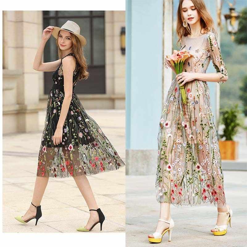 Afrika düğün tül çiçekli dantel kumaş elbise için, Diy dantel perde Windows kumaş, giyim dikiş Patchwork Diy Tissus Tecido