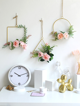 3pcs/set Dining room wall decoration iron wall hanging creative room bedroom wall decoration floral plant nordic decoration home
