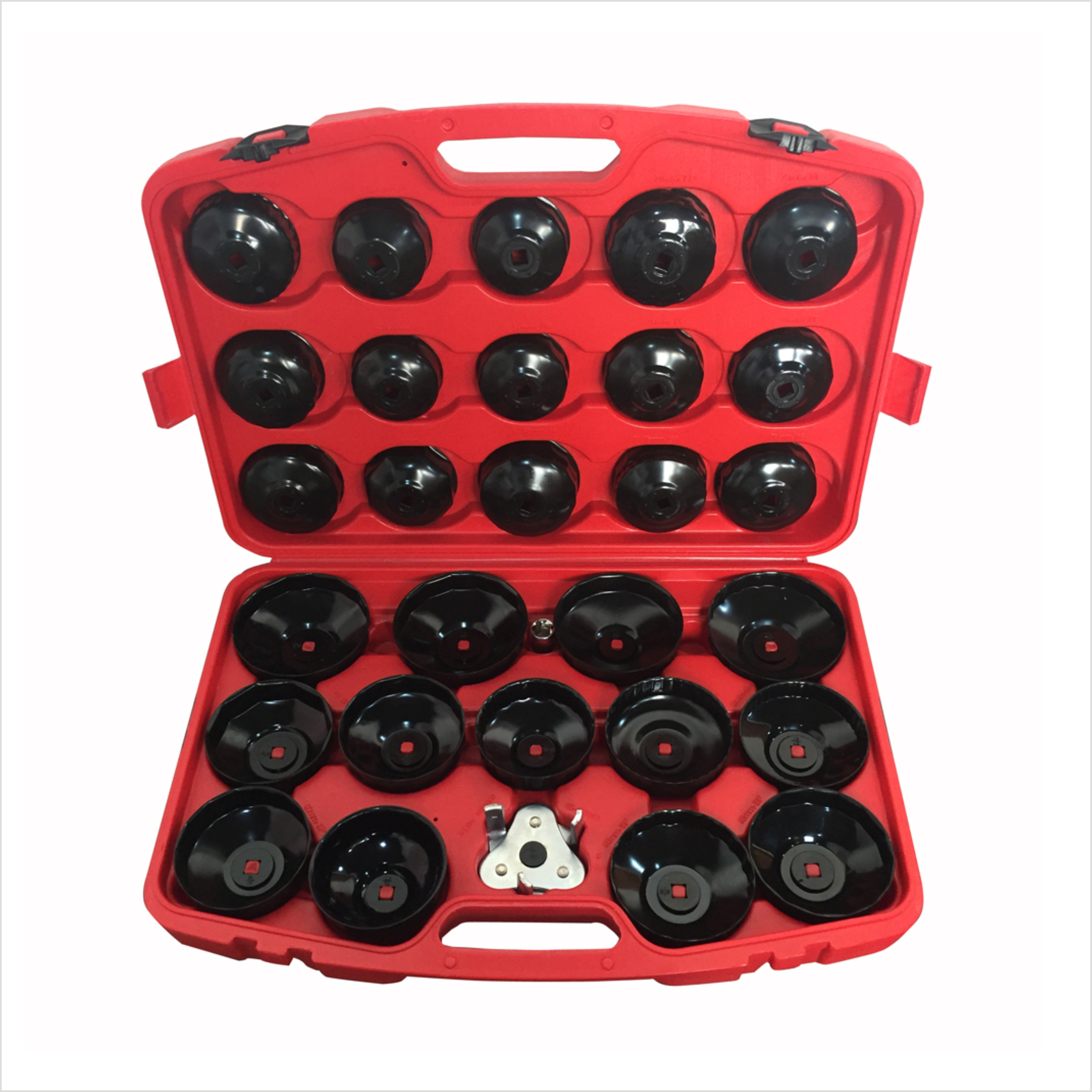 30pcs Oil Filter Cap Wrench Cup Socket Tool Set For Mercedes BMW VW Audi Volvo Ford 20pcs m3 m12 screw thread metric plugs taps tap wrench die wrench set