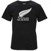 Newest 2017 Men S Fashion All Blacks T Shirt Rugbys 2015 3rd World Cup Win New