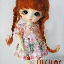 D2033B милые мохеровые парики для куклы BJD Размер 3-4 дюймов 5-6 дюймов 6-7 дюймов кукольные волосы прекрасные косы BJD кукольные парики