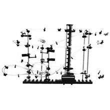 DIY пространства колеи Игрушка Уровень 1 2 3 Сталь Мрамор горках 16000 мм/5000 мм SpaceWarp с розничной коробке забавные Модель Строительство