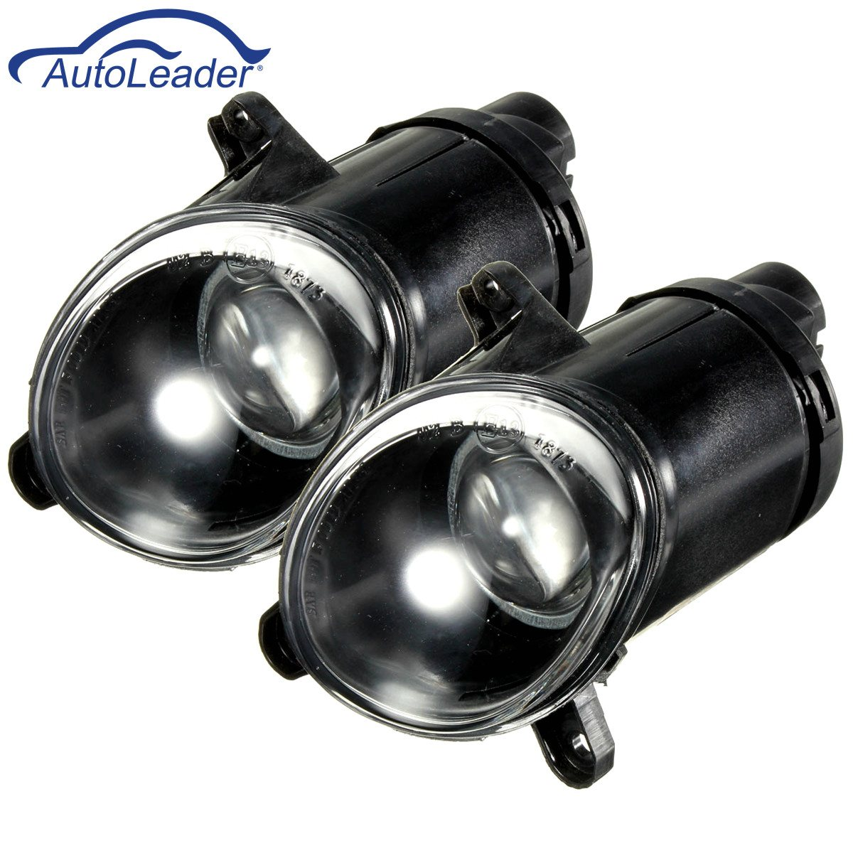 1 Pair Car Front Bumper Fog Light Driving Lamp For VW Passat 3BG B5 2000 2001-2005 H3 Bulb free shipping new pair halogen front fog lamp fog light for vw t5 polo crafter transporter campmob 7h0941699b 7h0941700b