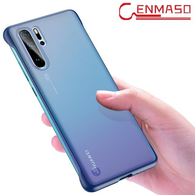 P30 Pro case for Huawei P30 P20 Lite 2019 mate 10 20 x back cover For Honor 8X 9X V20 20 pro P smart plus 2019 Frameless case