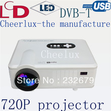 Free Shipping Cheapest Portable LED projector proyector home cinema support HDMI/VGA/USB/TV/AV Best Home Theatre