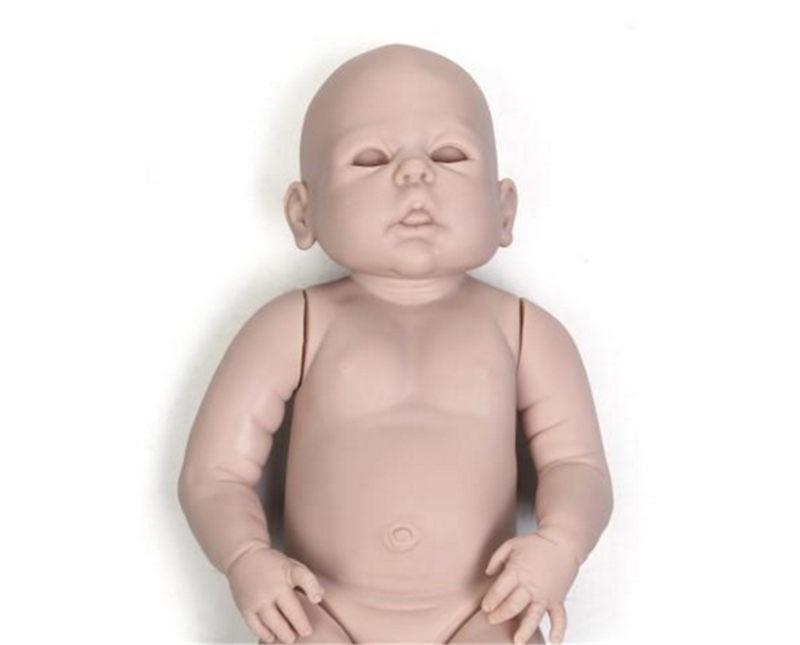 NPK 23 インチ約 58 センチメートルリボーン Bebes 人形キット塗装ブランク人形 Diy の人形解剖学的に正確胴体フル手足  グループ上の おもちゃ & ホビー からの 人形アクセサリー の中 2
