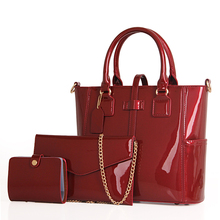 2016 Women Handbags Sets PU Leather Handbag Women Messenger Bags Designer Ladies Handbag Girls Shoulder Bag