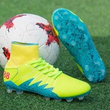 913b4e631b4a4 Zapatos de fútbol al aire libre hombres espigas tobillo Atlético  entrenadores profesionales adultos magista ag superfly
