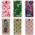 Tpu soft case para xiaomi redmi note 3 pro sereia padrão ultra-fina e transparente de silicone tampa do telefone para redmi note 3 5.5 polegadas