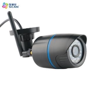 Image 2 - 2.0mp 1080 p Bullet Ip מצלמה Wifi אלחוטי מעקב תנועה לזהות חיצוני עמיד למים שחור פלסטיק Webcam Freeshipping חם