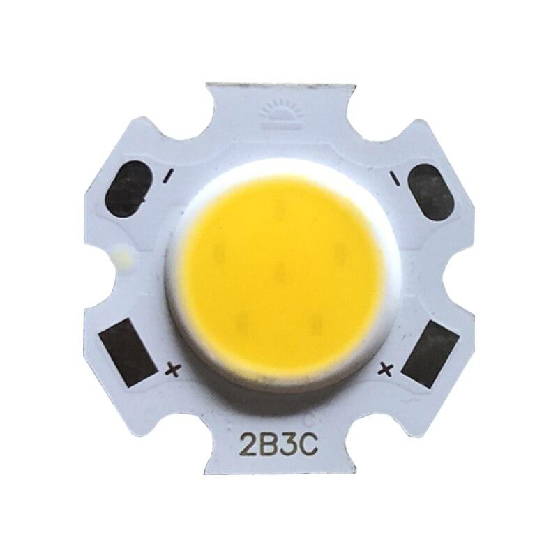 10 шт. в партии 3 Вт 5 Вт 7 Вт 10 Вт светодиодный источник чип высокой мощности LED COB сторона 11 мм лампочка лампа прожектор вниз свет лампы