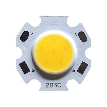 15pcs a lot 3W 5W 7W 10W LED Source Chip High Power COB Side 11mm Light Bulb Lamp Spotlight Down light Lamps