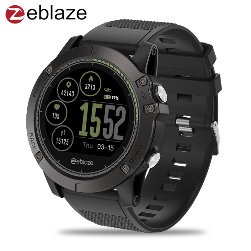 Nuevo Zeblaze VIBE 3 HR Smartwatch IP67 impermeable dispositivo Wearable Monitor de ritmo cardíaco IPS pantalla a Color Sport Smart Watch