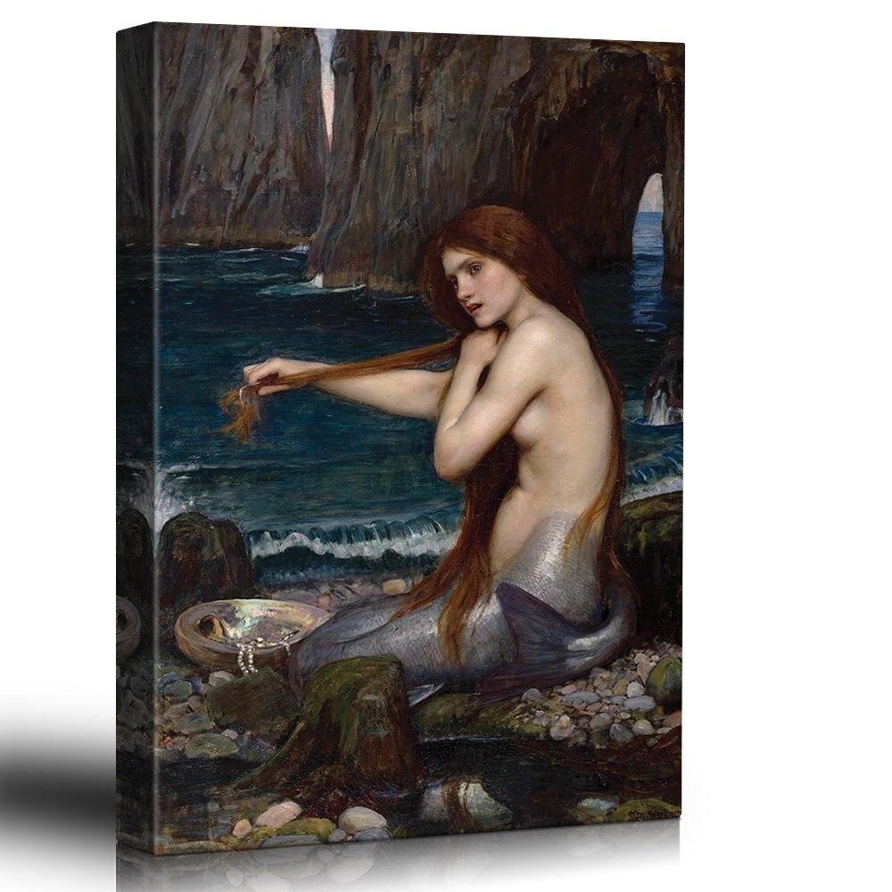Online kopen wholesale mooie mermaid art uit china mooie mermaid ...