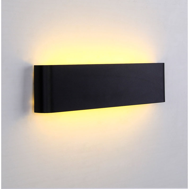 Modern LED wall lamp 12W wall light for bathroom aluminum wall sconce home decoration Mirror Lights Super thin lighting fixture 6w 9w led wall lamp modern bathroom mirror light acrylic lampshade chrome metal sconce home decoration fixture 110 220v