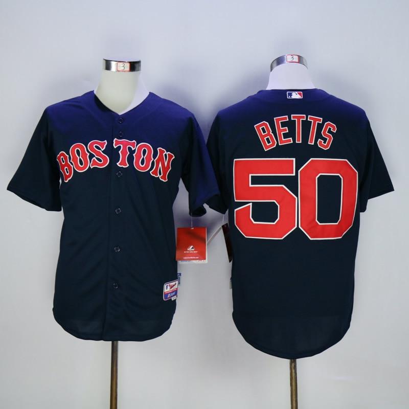 a89848d7d3d Online Shop Boston Red Sox Jerseys 50 Mookie Betts Jersey White Red Grey .