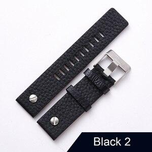 "Image 3 - חדש עיצוב שעון אביזרי שעון להקת עבור דיזל Watchbands 22 מ""מ 24 מ""מ 26 מ""מ 28 מ""מ רטרו שעון רצועה צמיד"