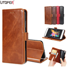 UTOPER Luxury Flip Case For LG K8 Case Silicone Cover For LG K8 2017 Coque PU Leather Stand Case For LG X300 Aristo K8V K8 Lte