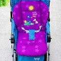 Cochecito de bebé Cojín Accesorios Cochecito Liner 5 Point Harness Trona Bebé Cojín Del Asiento de Coche, Cochecito Colchón Relleno