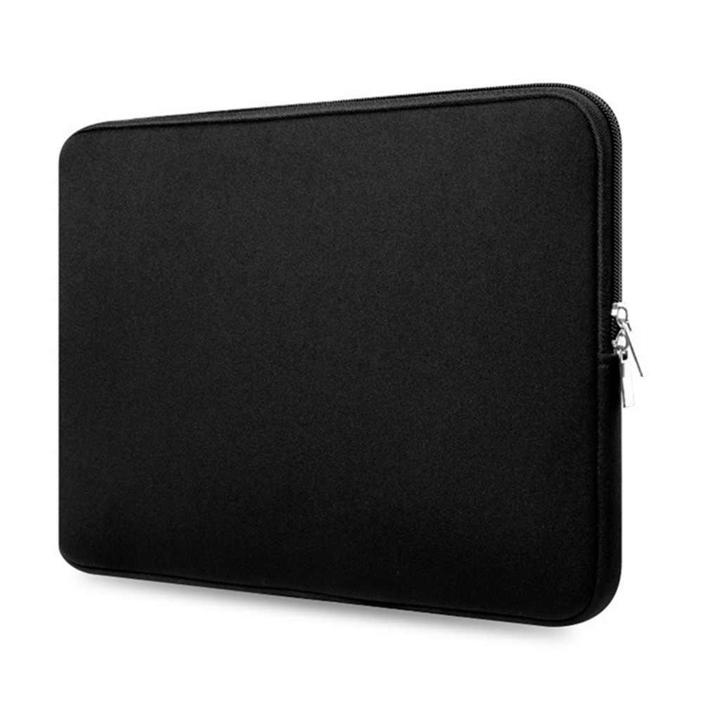 حقيبة لاب توب لماك بوك اير برو 11 13 14 15 15.6 بوصة حقيبة لابتوب حافظة للنساء الرجال الغطاء الواقي اللوحي حافظات لابتوب