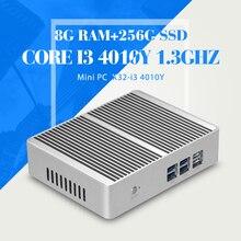 XCY Mini PC Tablet Core I3 4010Y 8G RAM 256G SSD WIFI Desktop Computer Htpc Mini Desktop PC Windows 7 Ubuntu mini computer