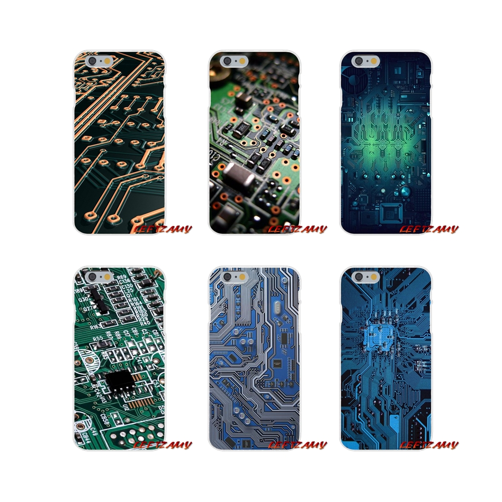 Customized Cases For <font><b>Samsung</b></font> <font><b>Galaxy</b></font> S3 S4 S5 MINI S6 S7 edge S8 S9 Plus <font><b>Note</b></font> 2 3 4 5 <font><b>8</b></font> Technology Circuit board <font><b>Motherboard</b></font> line image