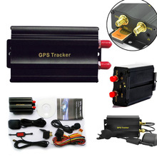 Professional GPS Car Tracker with GPRS and Vehicle Theft Protection Alarm System TK103A