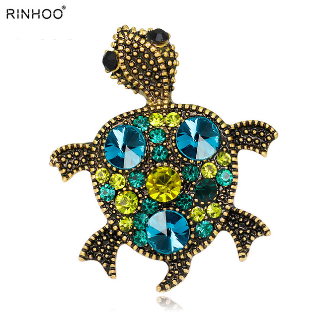 2018 Zoo animal Little Tortoise Brooches For Daughter Holiday Gift Brosh boutonn