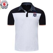 Fredd Marshall Merk Kleding 2018 Nieuwe Casual Solid Polo Shirt Mannen Korte Mouw 100% Katoen Hoge Kwaliteit Homme Polo Shirt FM031