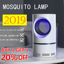USB Electronics Mosquito Killer Trap Moth Fly Wasp LED Night Light Lamp Bug Insect Lights Killing Pest Zapper Repeller 211(China)