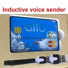 Качество межтелефонная карта GSM функция речевой передатчик без рук голосовой монитор Индукционная Голосовая карта отправителя GSM рация