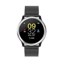 """Новинка 1,"""" цветной экран спортивные Смарт-часы для плавания кровяное давление монитор сердечного ритма женские умные часы меньше, чем iWO 5 6"""