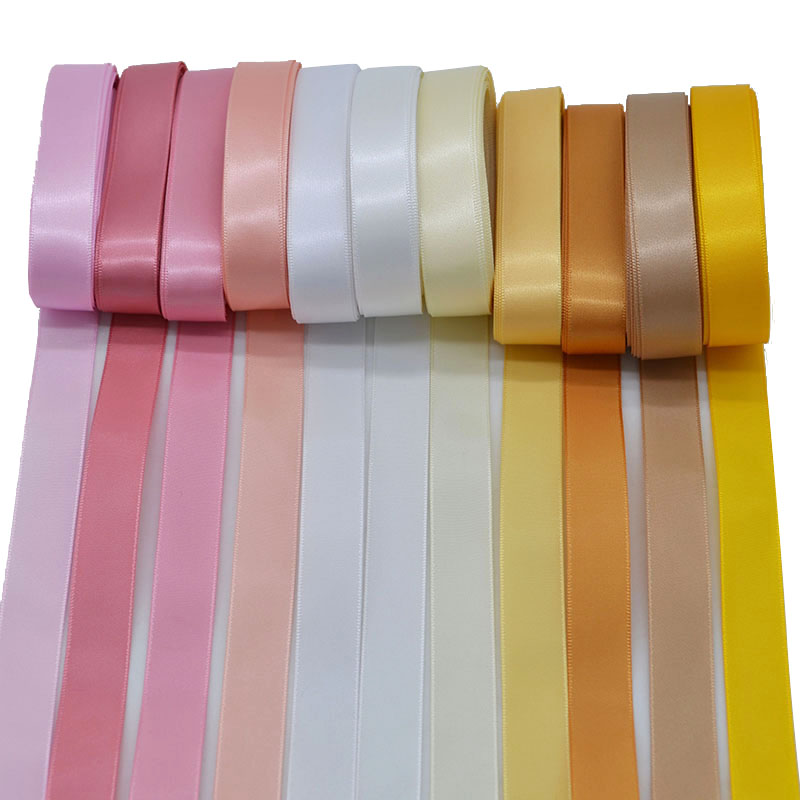 15mm Width Satin Ribbon Tape High Quality Binding Edge