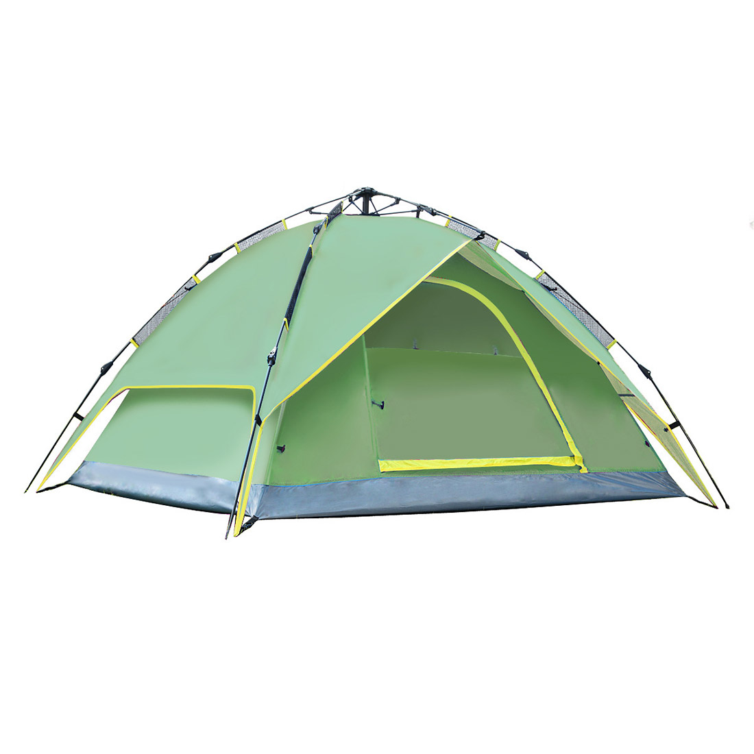 Aotu Three In One 3 - 4 People Outdoor Folding Waterproof Tent Free Automatic Camping Building Army Green комбинезон free people free people fr045ewtgl49 page 3