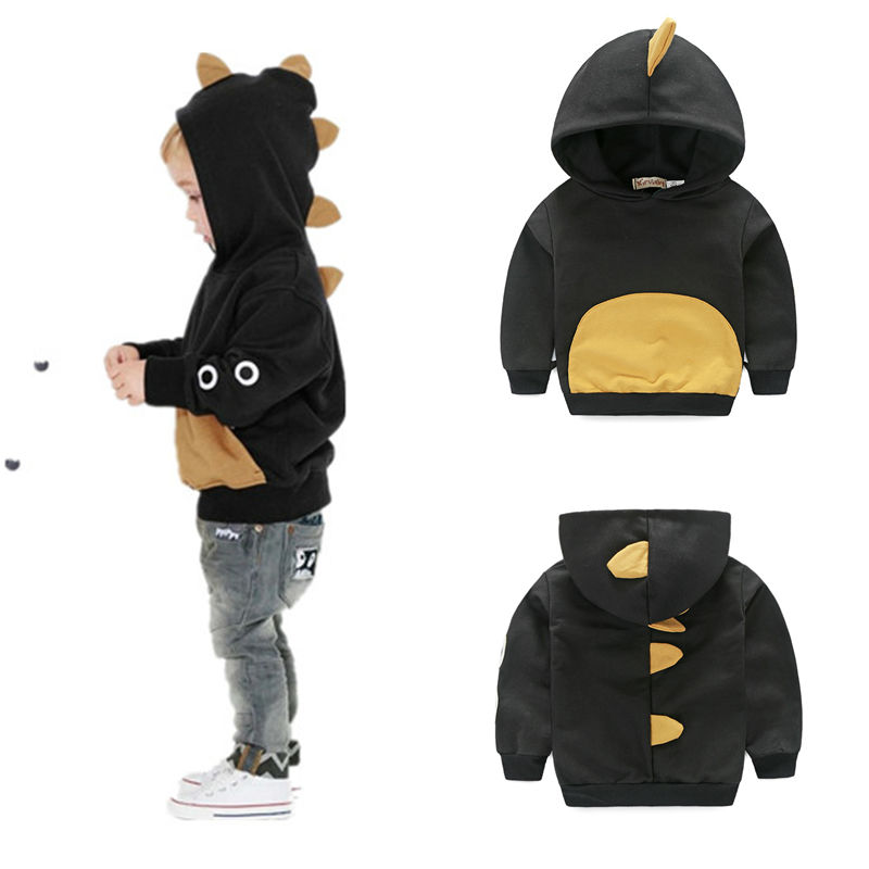 spring dinosaur baby boy hoodies 1 pc baby boy clothes outwear fashion infant boys clothing
