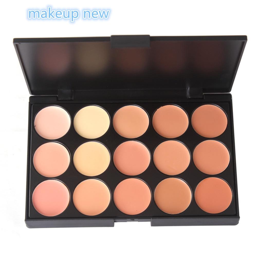 Neautral Colors: 1pc 15 Colors Face Professional Concealer Neutral Palette