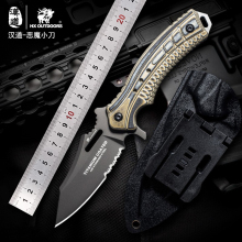 HX OUTDOORS Tactical Fixed Blade Knife 440C Outdoor Hunting Camping Rescue Knives G10 Handle Survival EDC Pocket Knife Tools kkwolf fixed hunting knife tactical survival knives 440c blade wood bones handle outdoor north american camping knife edc tools