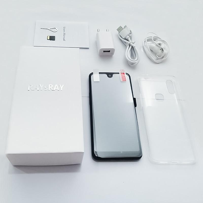 Raysray X23 4G LTE téléphone intelligent 3G RAM + 32GB ROM 3800mAh téléphone portable 8MP + 2MP téléphone portable double cartes SIM reconnaissance faciale - 6