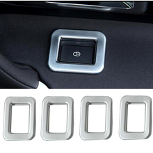For Land Rover Discovery Sport 2015 2016 2017 ABS More Fashion Chrome Door Lock Switch Button Frame Cover Trim